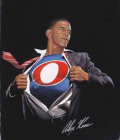 Barack Obama Superman